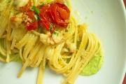 Linguine Gamberi e Zucchine